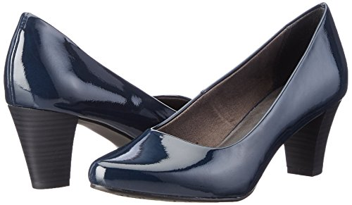 night Blue Escarpins Femme 22423 Tamaris Bleu 845 Pat UvzIIZ