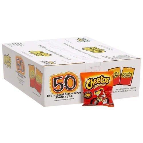 Cheetos Crunchy - 50/1 oz. bags by Cheetos