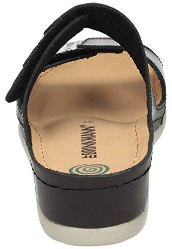 Women's Dr Black Pantolette Brinkmann Clogs Damen 56HHqvw0