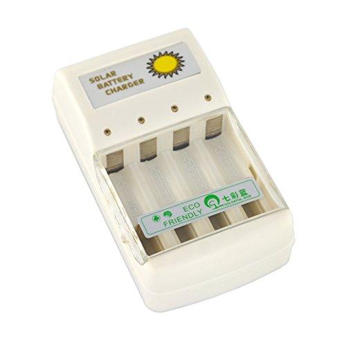 Samyo Solar Battery Charger for 4 pcs AA/AAA NI-MH and NI-CD Green Power