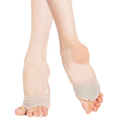Capezio - Zapatillas de danza para mujer Beige - beige