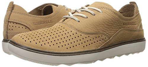 Merrell Womens/Ladies Around Town Lace Air Suede Urban Sneakers Tan