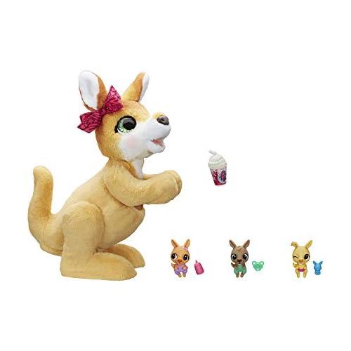 chollos oferta descuentos barato Furreal Friends Peluche electrónico Mama Josie Y Sus Canguritos Hasbro E67245L0