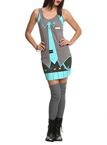 Vocaloid Hatsune Miku Costume Dress -