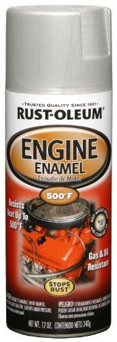 Rust-Oleum 248953 Automotive 11-Ounce 500 Degree Engine Enamel Spray Paint, Cast Coat Aluminum by Rust-Oleum