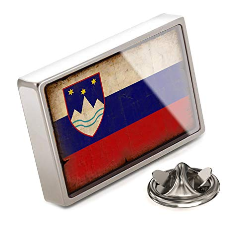 - NEONBLOND Lapel Pin Slovenia Flag with a Vintage Look