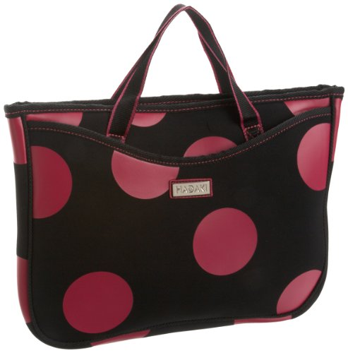 Hadaki 15.4 Laptop Tote,Bubbles Pink,one - Art Haus Bag