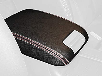 Subaru Impreza 2008-11 armrest Cover - Extended by RedlineGoods Redline Automotive Accessories Corp
