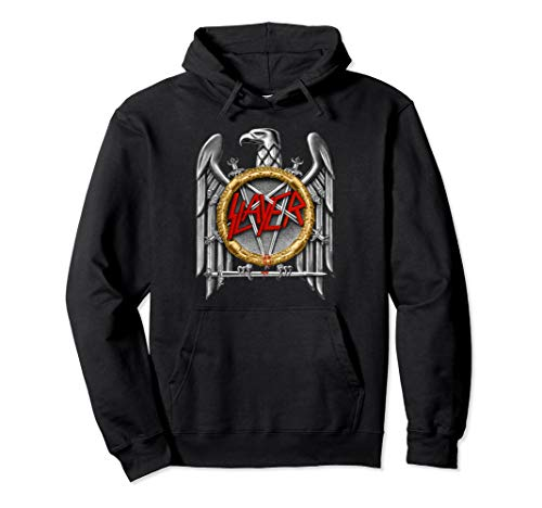 GM- Slayer silver eagle  Pullover Hoodie