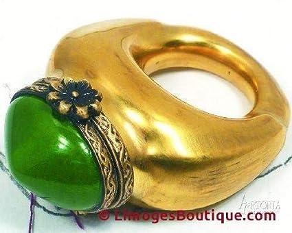 Amazon.com: Anillo: verde/oro – Cajas de limas francesas ...
