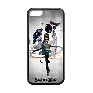 iPhone 5c Case, [steins gate] iPhone 5c Case Custom Durable Case Cover for iPhone5c TPU case (Laser Technology)