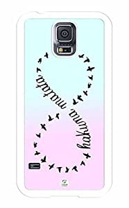Gradient Colors RUBBER Samsung Galaxy S5 Case - Fits Samsung Galaxy S5 T-Mobile, AT&T, Sprint, Verizon and International
