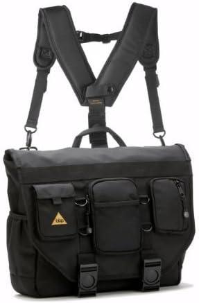 Amazon Com Bbp Hamptons Hybrid Messenger Backpack Laptop Bag Obsidian Black Small Computers Accessories