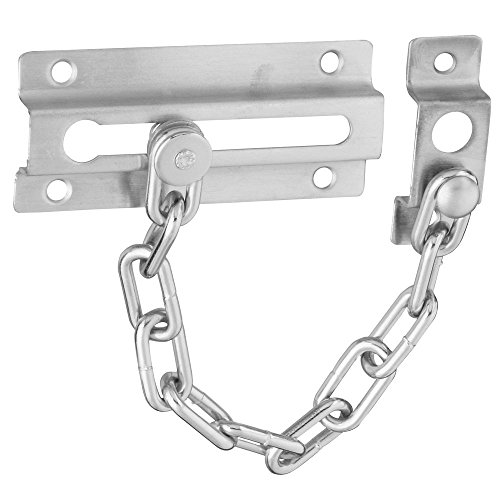 (National Hardware N274-407 V807 Door Chain in Satin Chrome)