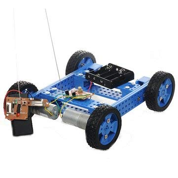 Armored Tracked Tank Smart Car Kit With Remote Control High Torque - Arduino Compatible SCM & DIY Kits Smart Robot & Solar Panel - 1 x DIY Car Model Kit