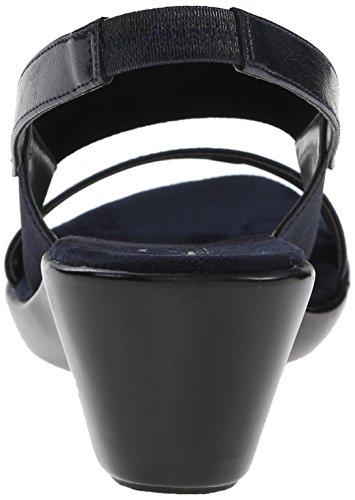 A2 Av Aerosoler Kvinna Syn Wedge Sandal Navy Combo