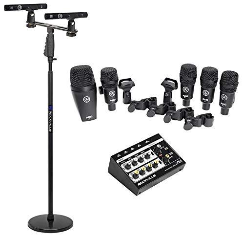 (AKG Drum Set Session I (7) Microphone Kit)