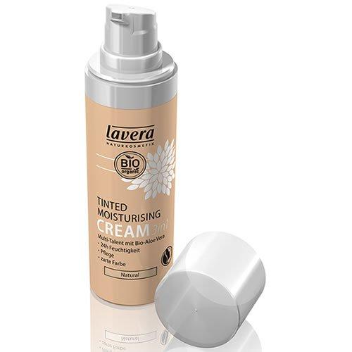 Organic Moisturising Cream - Lavera Tinted Moisturising Cream 3in1, Natural, 1 Ounce