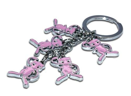 Pokemon Pokedoll Mew Metal Keychain Great Collectible