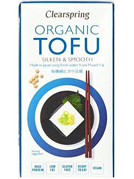 Tofu sedoso japonés Clearspring, 300g: Amazon.es ...