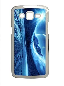 cases spec fantasy winter scenery PC Transparent case/cover for Samsung Galaxy Grand 2/7106