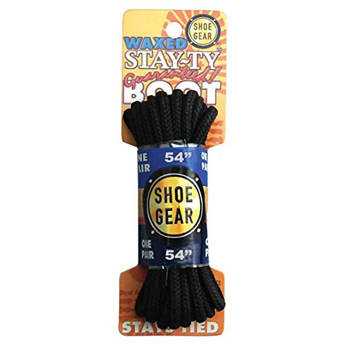 Rhode Island Textile Stay-Ty Waxed Boot Lace, 54