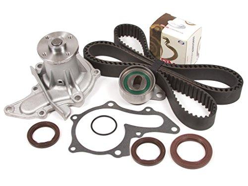 Evergreen TBK236WPT Fits 93-97 Toyota Corolla Geo Prizm 1.6L DOHC 4AFE 16V Timing Belt Kit Water - Geo Prizm