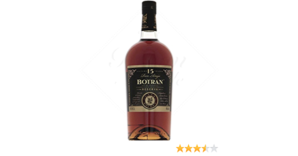 Botran Ron 15 Years Old Reserva 40º - 1000 ml