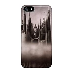 Premium Castle Back Cover Snap On Case For Iphone 5/5s
