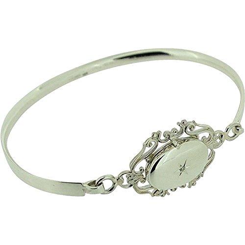 Bracelet Médaillon pour Femme en Argent Fin 925 par La Olivia Collection
