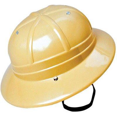 Children's Hard Plastic Safari Pith Helmet (Kids Helmet Safari)