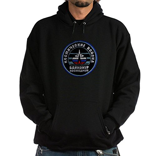CafePress Baikonur Cosmodrome Hoodie (Dark) - Pullover Hoodie, Classic & Comfortable Hooded Sweatshirt (Launch Insulated Jacket)