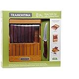 Tramontina 8 Pc. Steak Knife Set with Folding Block