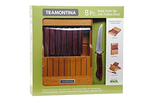 Tramontina Steak Knife Folding Block