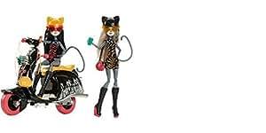 Amazon.com: Muñecas Monster High Par 2 werecat Hermanas ...