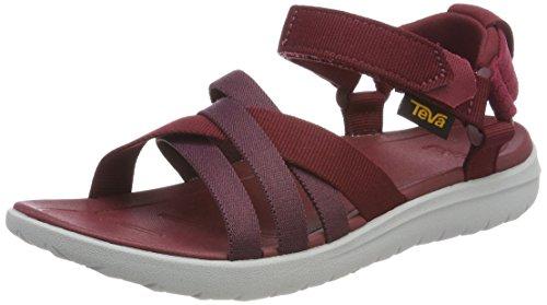 Sanborn Rot Sandal W Red Teva Damen Rhubarb xa6qA0wSU