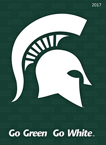 2017 Michigan State University 12 Month Simplicity Planner