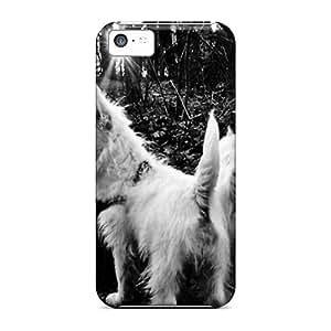 UKY4168jksb Randolphfashion2010 White Embrace Durable Iphone 5c Cases