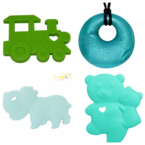 Baby Teething Inflammation Silicone Necklace