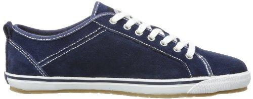 Dockers 342342-001300 - Zapatos con cordones de cuero unisex azul - Blau (navy)