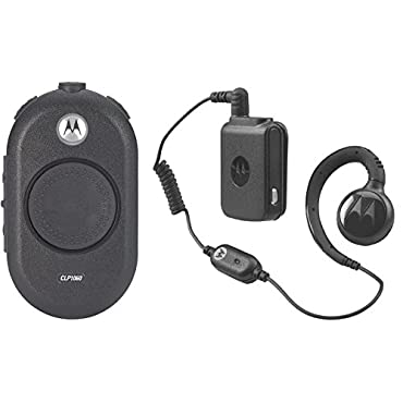 Motorola CLP1060 On-Site 6 Channel Two-Way Business Radio Black