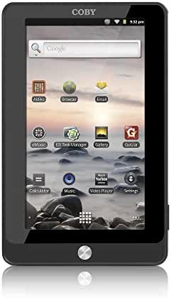 Coby Kyros MID7015 7-Inch Android 2.3 Internet Touchscreen Tablet PC with WiFi, 0.72 GHz, 4GB Flash Removable Memory