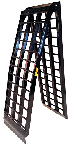 - Titan 10' 4-Beam Truck Loading Ramp for Motorcycles and Recreational Vehicles
