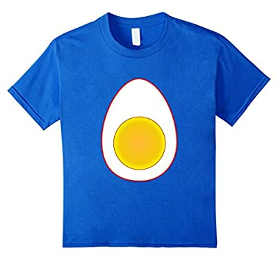 Funny Deviled Egg Halloween T-Shirt Last Minute Costume Tee