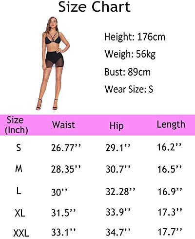 MANGOPOP Women Sexy See-Through Maxi Swimsuit Skirt Sheer Chiffon Skinny Sarong Bikini Cover up