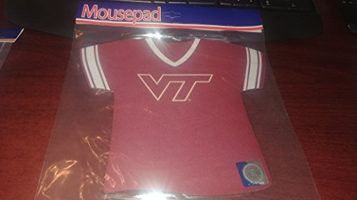 Kolder Neoprene Mouse Pad - Virginia Tech University (Hokies) (Officially Licensed Collegiate Products)