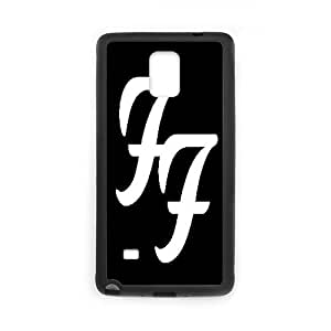 Samsung Galaxy Note 4 Cell Phone Case Black Foo Fighters VIJ Phone Case Clear Custom
