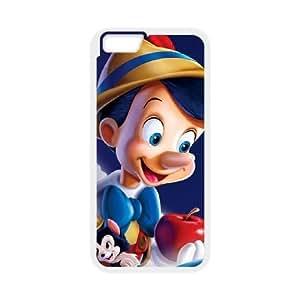 iphone6 4.7 inch White phone case Disney Cartoon Comic Series Pinocchio QBC3068219