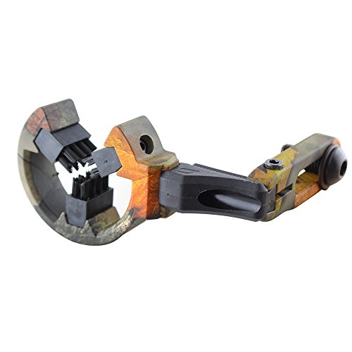 Whisker Biscuit Arrow Rest for Compound Bow Hunting Archery Brush Capture Arrow Rest Camo 2#