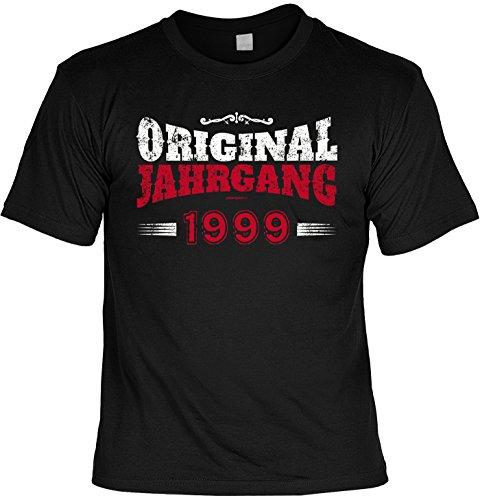 T-Shirt - Original Jahrgang 1999 - lustiges Sprüche Shirt als Geschenk zum 18. Geburtstag